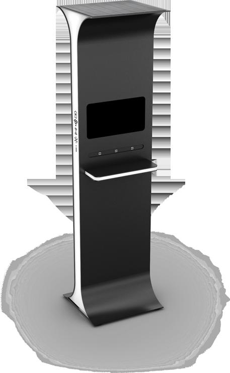 Ławka solarna - SEEDiA Future Kiosk