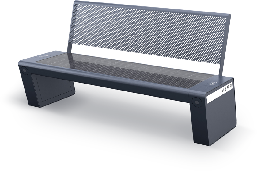 Solar bench - SEEDiA City Classic