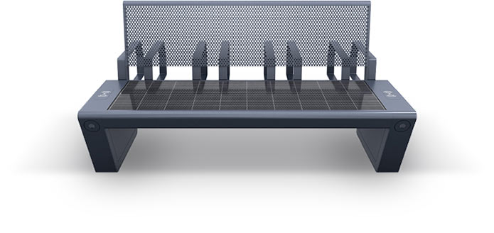 Solar bench - SEEDiA City
