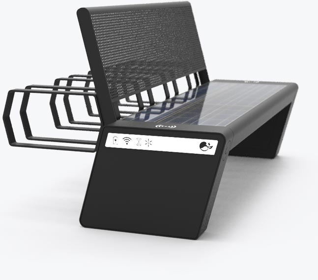Solar bench - SEEDiA City