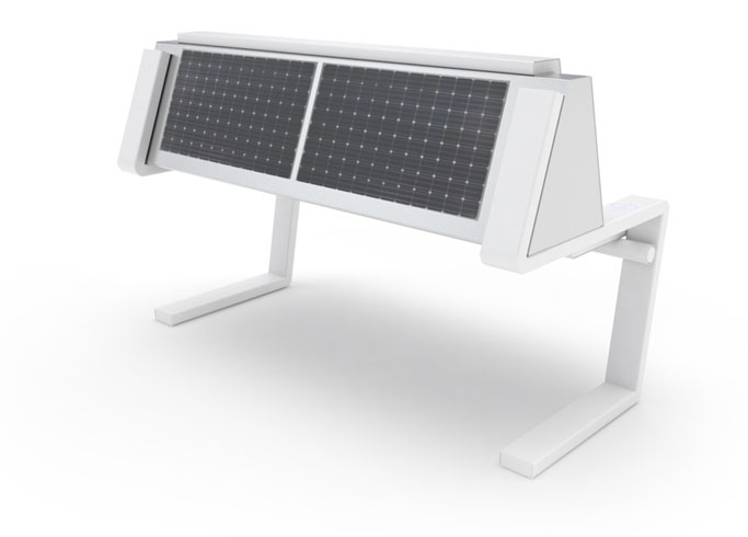 Solar bench - SEEDiA Invention