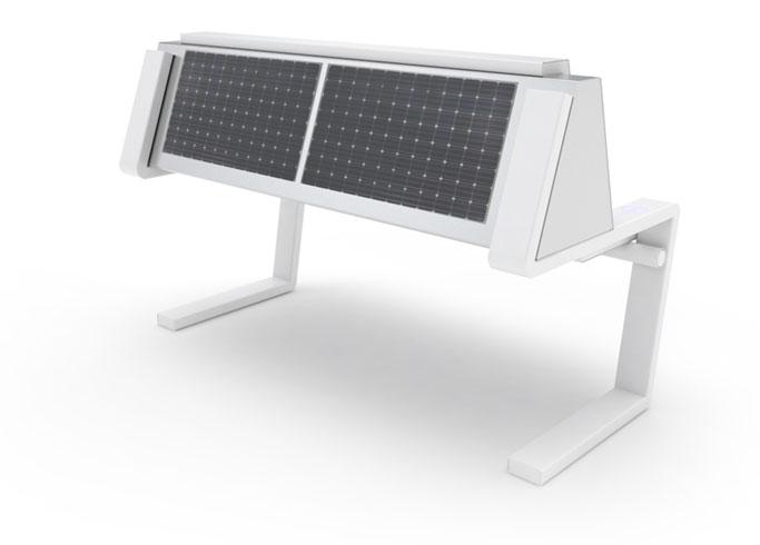 Solar bench - SEEDiA Invention