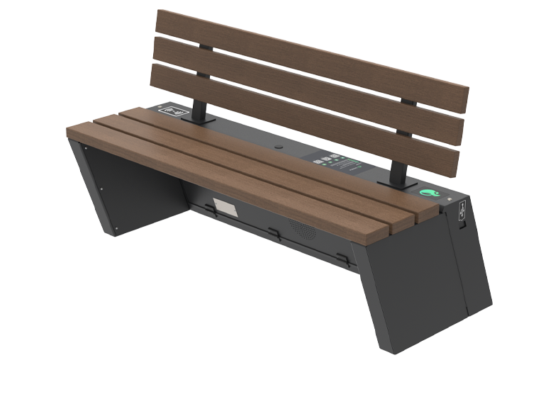 Solar bench - SEEDiA Urban Classic
