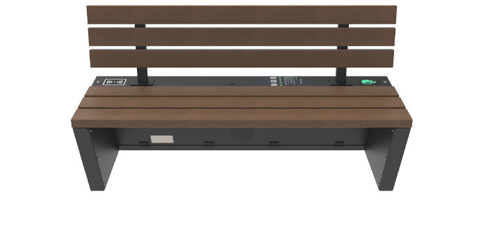 Solar bench - SEEDiA Urban