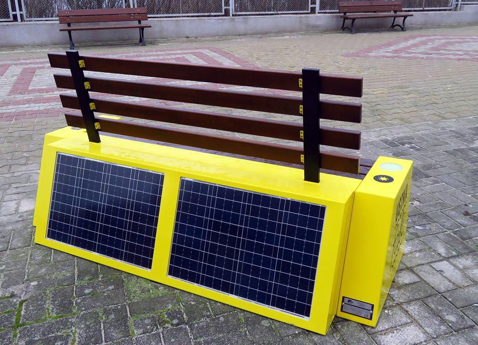 Solar bench 2