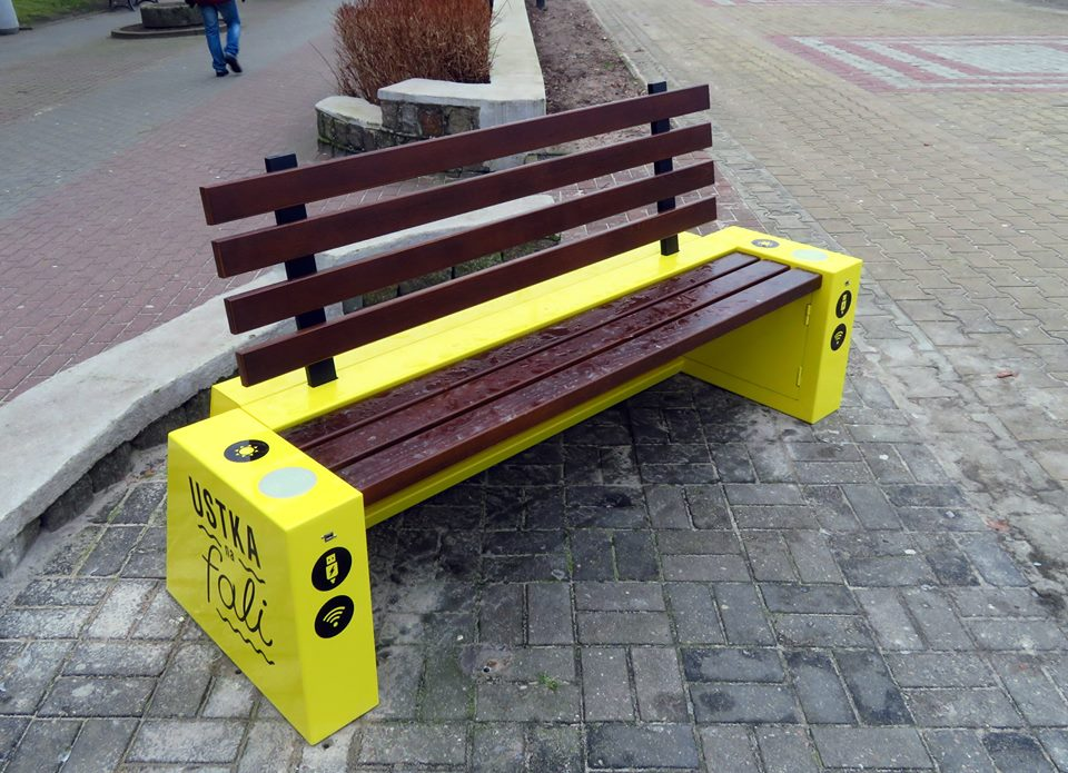 Solar bench 4