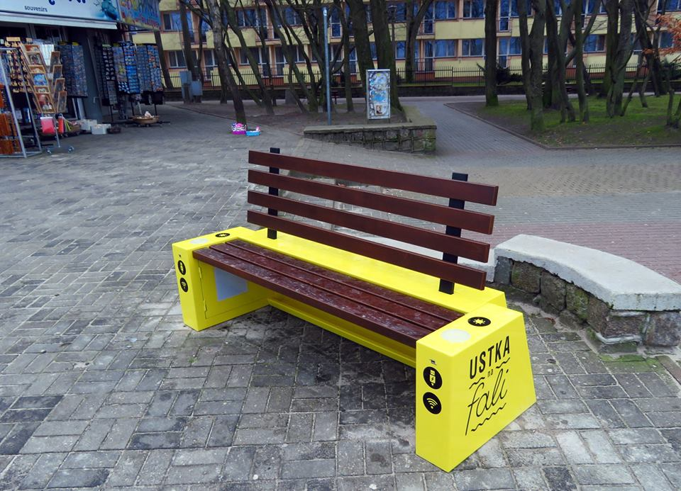 Solar bench 1